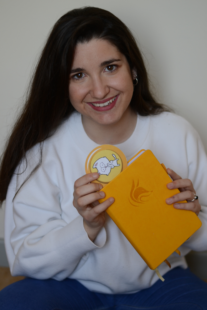 Ana Campano, creator of Catchyespañol and Spanish teacher specialised in children and teenagers