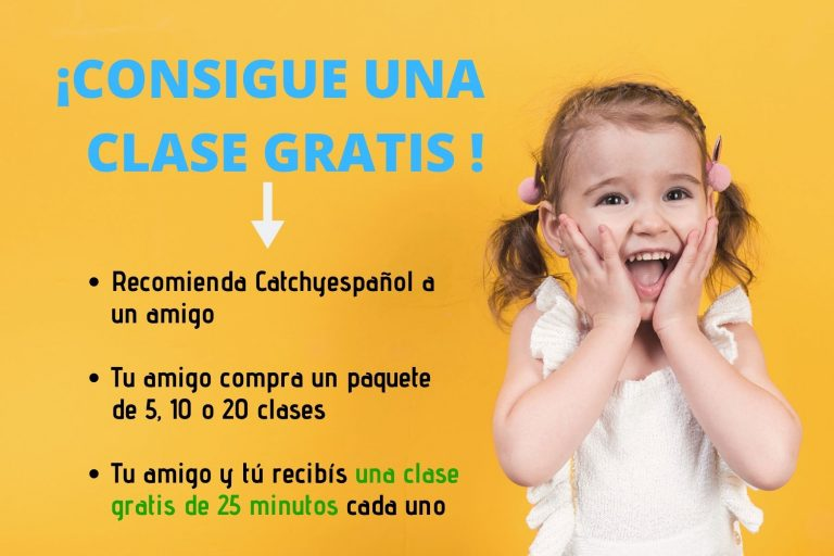 CLASE DE ESPAÑOL GRATIS